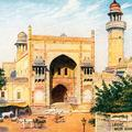 Lahore. Wazir Khan's Mosque (Outer Part)
